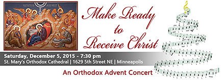 Orthodox Advent Concert: MN @ St. Mary's Orthodox Cathedral | Minneapolis | Minnesota | United States